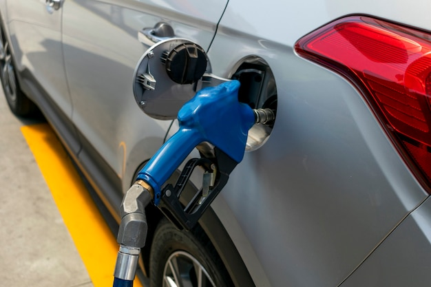 Bomba de gasolina ou etanol