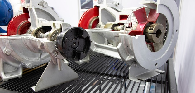 Bomba helicoidal para equipamentos industriais; fundo de engenharia