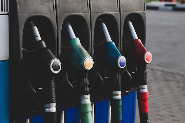 Bombas de combustível gasolina