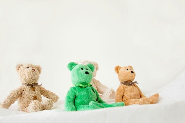Bonecos bonitos e a gangue, equipe do brinquedo