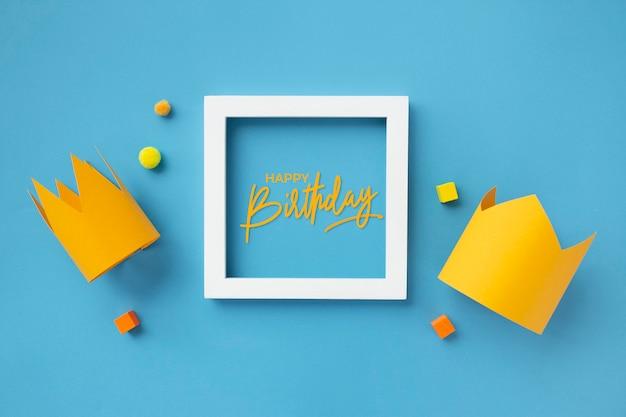 Bonito colorido para dar os parabéns ao aniversário