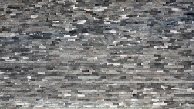 Bonito textured do fundo preto velho da parede de tijolos.