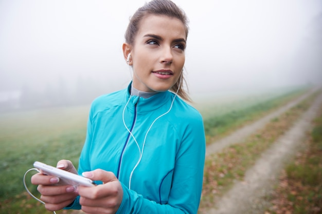 Bons sons me ajudam a encontrar motivação para correr