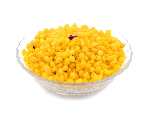 Boondi doce tradicional indiano