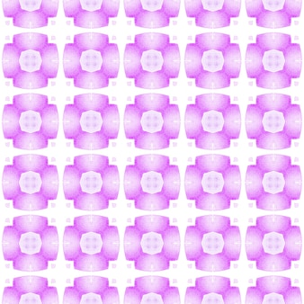 Borda sem costura tropical desenhada de mão. design de verão chique boho incrível roxo. têxtil pronto para impressão agradável, tecido de biquíni, papel de parede, embrulho. padrão sem emenda tropical.