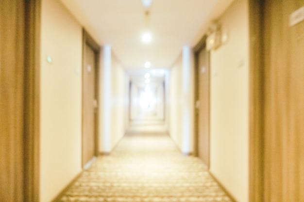 Borrão abstrata e desfocado hotel e lobby lounge