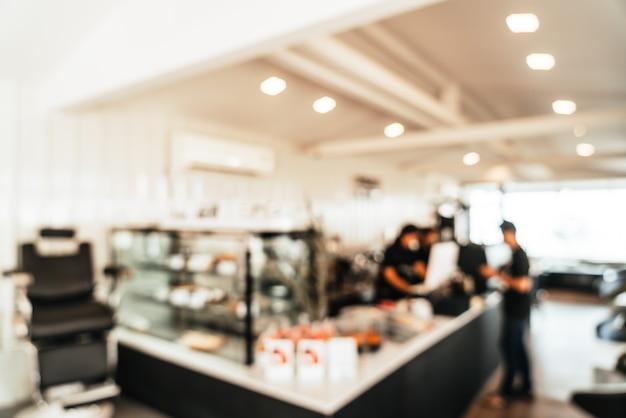 Borrão abstrato café café e restaurante para segundo plano