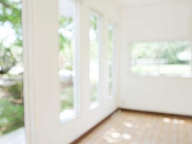 Borrão de fundo abstrato moderna sala de estar