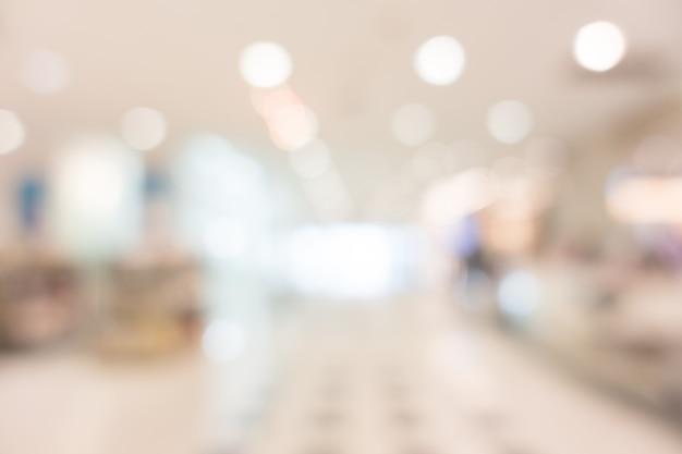 Borrão de hospital e clínica interior