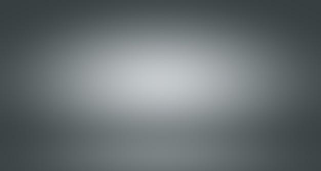 Borrão de luxo abstrato gradiente de cor cinza, usado como parede de estúdio de fundo para exibir seus produtos.