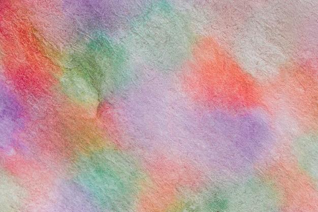 Borrão de movimento colorido aquarelle técnica artesanal