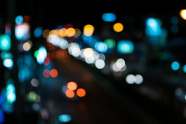 Borrão luzes abstratas bokeh