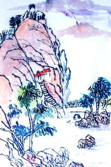 Botânica, vermelho, natureza, flor, pintura, gráfico