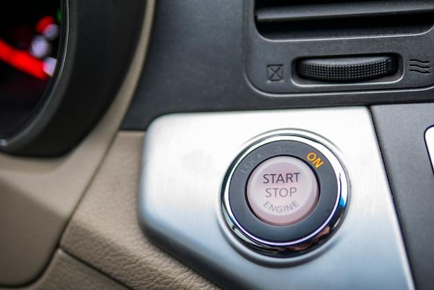 Botão start stop. botão de início automático