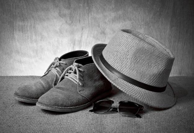 Botas de calçado clássico de moda branco