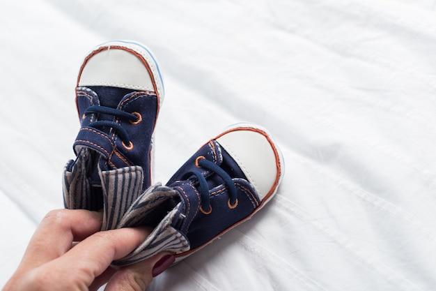 Botinhas de bebé para menino