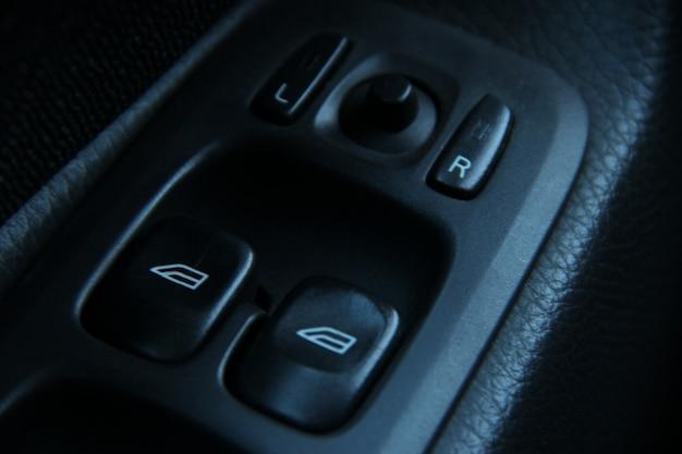 Botões de porta de design de carro