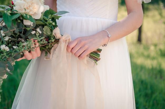 Bouquet de noiva de flores silvestres
