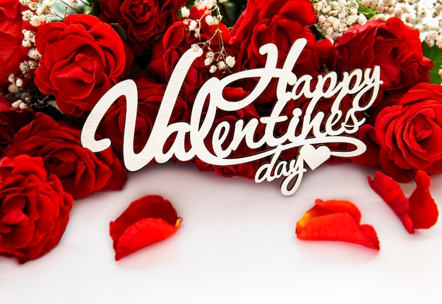 Bouquet de rosas vermelhas para o dia dos namorados