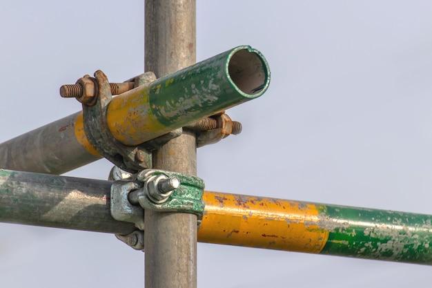 Braçadeira de tubo de andaime e peças