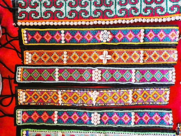 Bracele feito à mão da tribo thai hill
