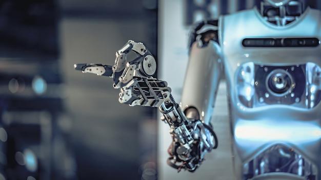 Braço robótico mecânico