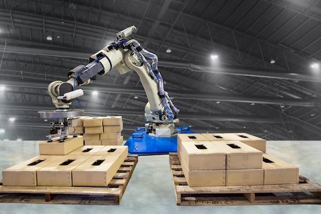 Braço robótico para atuar na fábrica da linha de produção.