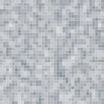 Branco e cinza, o papel de parede de alta resolução da parede de azulejos ou tijolo sem costura e interior com textura