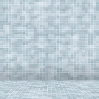Branco e cinza, o papel de parede de alta resolução da parede de azulejos ou tijolo sem costura e textura interior backgr ...