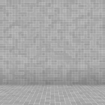 Branco e cinza, papel de parede de alta resolução da parede de azulejos