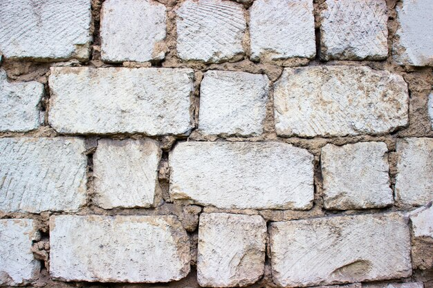 Branco velho grande blocos abstratos papel de parede