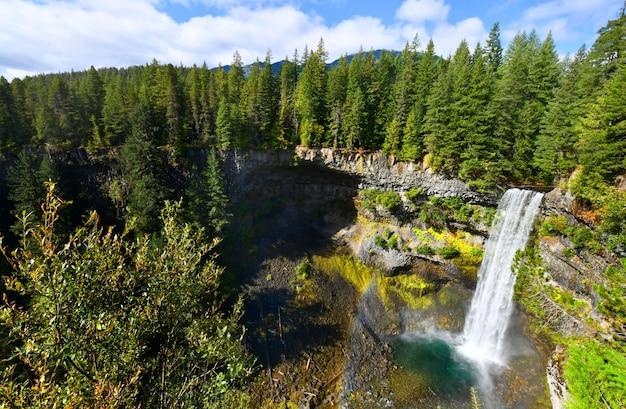 Brandywine falls provincial park, colúmbia britânica, canadá