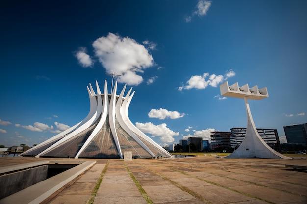 Brasília, brasil - 26 de maio de 2006 - catedral brasileira no distrito federal de brasília