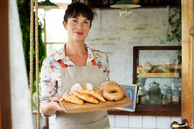 Bread shop bake farinha de farinha