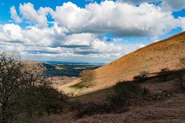 Brecon beacons, perto de abergavenny, país de gales, reino unido