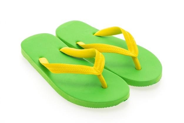 Brilhante sandália fundo trajeto verão