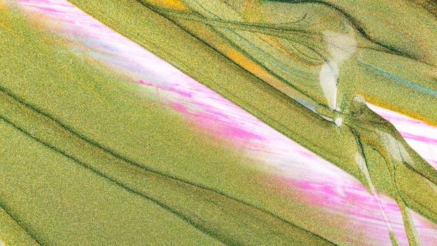 Brilho abstrato pinta textura na tela. fundo com tintas brilhantes. macro close-up de tinta a óleo de cor diferente
