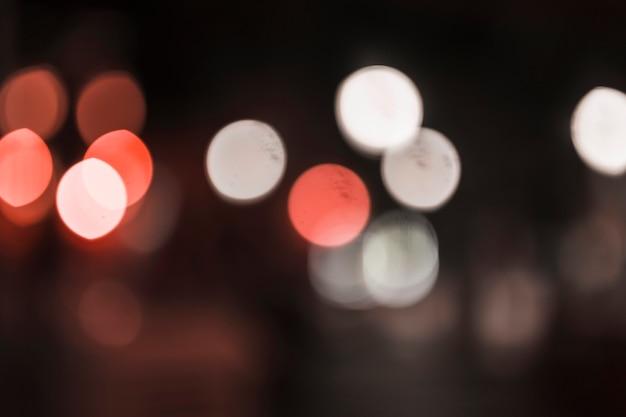 Brilho de brilho de fundo de luzes de lâmpadas