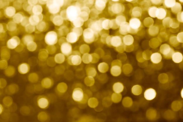 Brilho de ouro glamour
