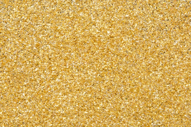 Brilho de textura de glitter dourados
