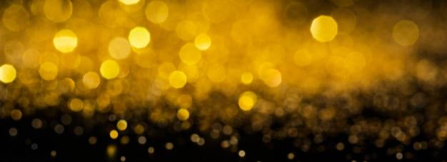 Brilho dourado deslumbrante