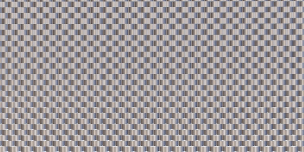 Brilho material de fundo de aço alumínio forrado padrão ilustração 3d