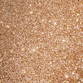 Brilhos extremos de ouro em close-up