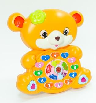 Brinquedo animal educativo infantil para aprender números.
