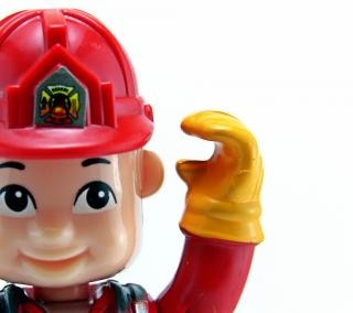 Brinquedo bombeiro