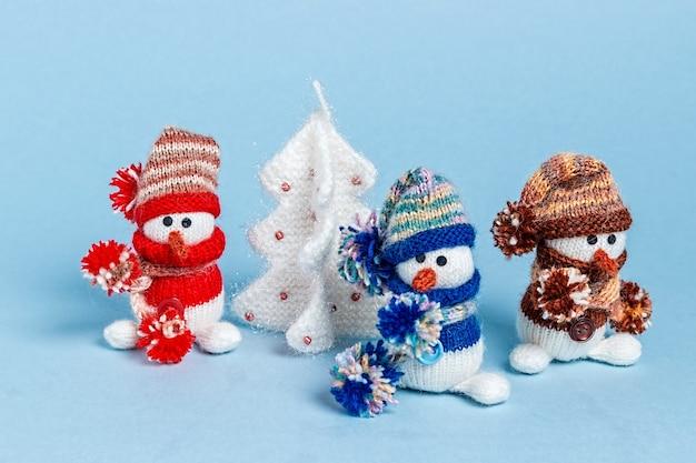Brinquedos de malha feitos à mão amigurumi