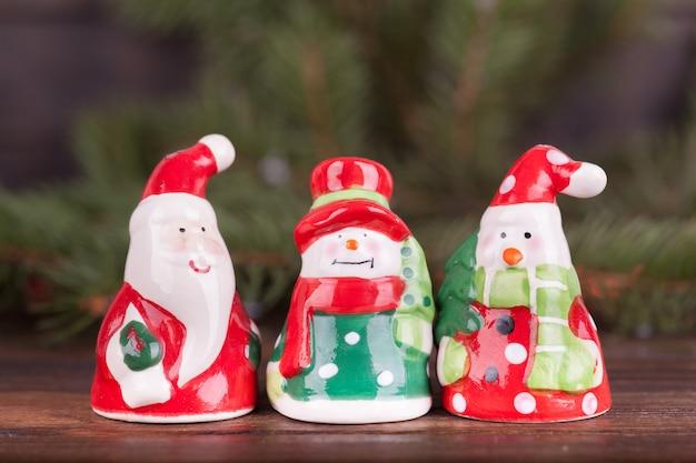 Brinquedos de natal, enfeites de natal.