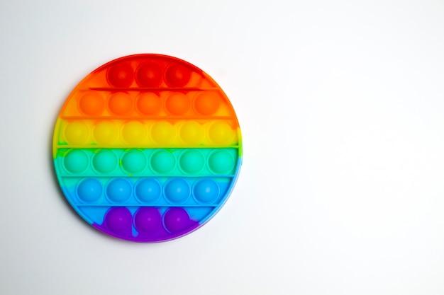 Brinquedos de silicone anti-stress pop it simples covinha nova tendência fidget para crianças dof