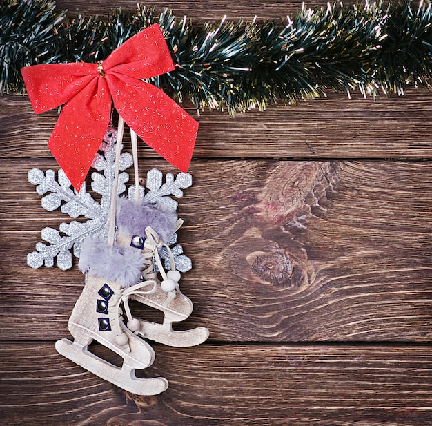 Brinquedos e decorações de natal