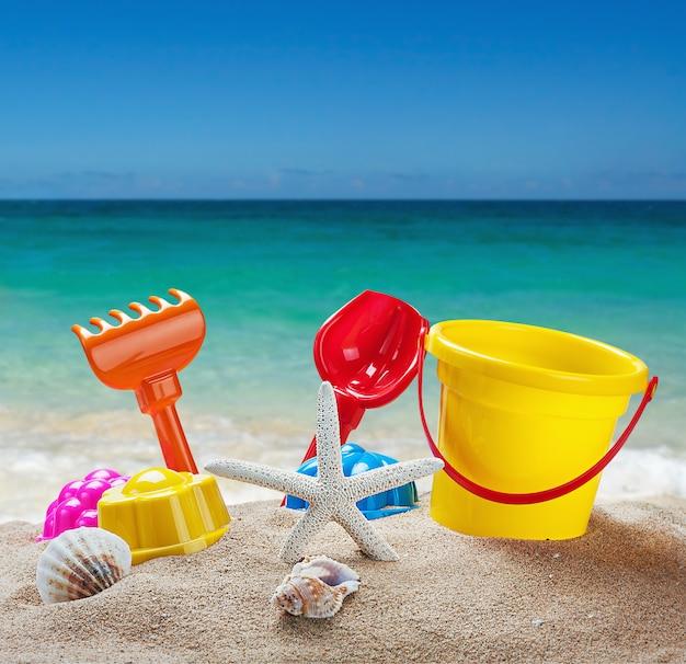 Brinquedos para caixas de areia para crianças